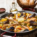 Paellapan met paella luxe