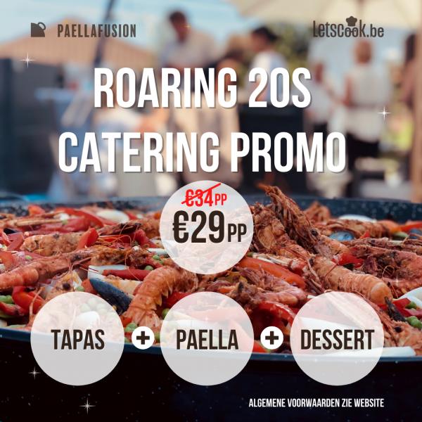 roaring 20s catering promo